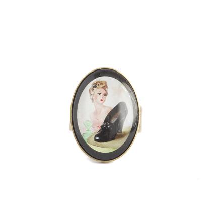 Bague Vintage Cinderella