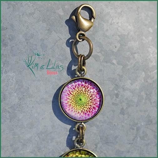 Bracelet Fleur à cœur