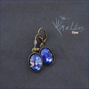 Bo 'L'envolée de papillons' version bleue