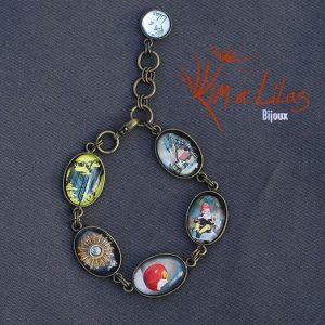 Bracelet 'Pomme croquée'
