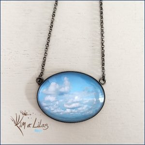 Collier court 'Nuages'