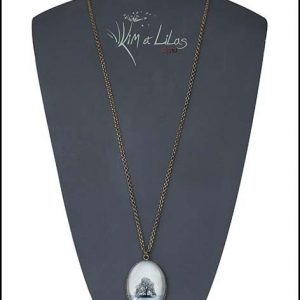 Collier long 'L'îlot'