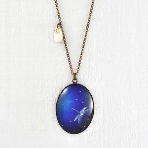 collier libellule